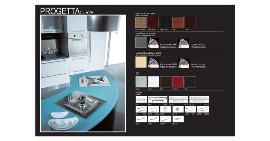 realizzazione grafica catalogo - Kappa Cucine